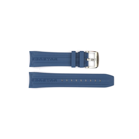 Tissot Replacement Blue Silicone Watch Strap T603031454