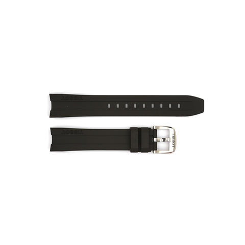 Tissot Replacement Black Silicone Watch Strap T603032879