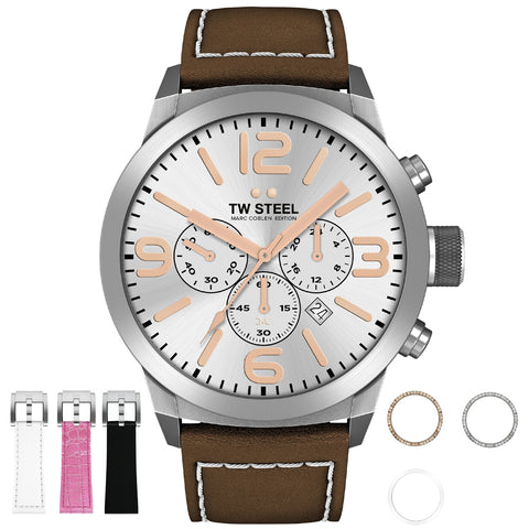 TW Steel Marc Coblen Edition TWMC32 Mens Watch Chronograph