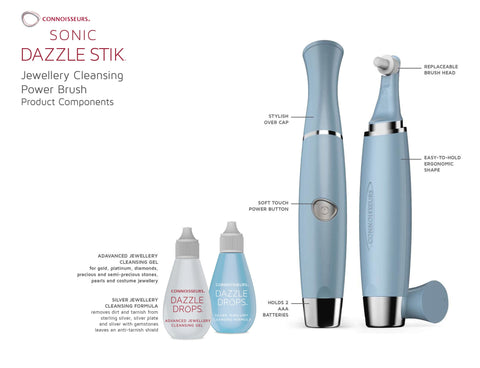 Jewellery Cleaner - Connoisseurs Sonic Dazzle Stik