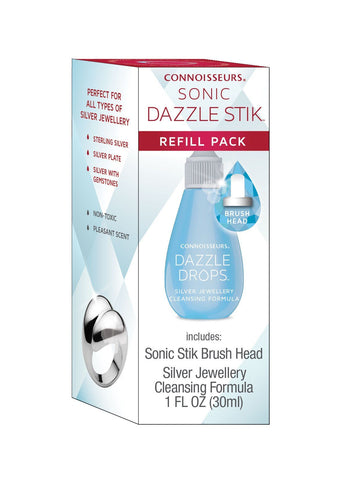 Jewellery Cleaner - Sonic Refill Silver Formula 30ml