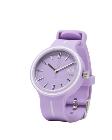 Superga Womens Pink Rubber Watch STC028