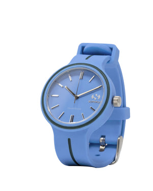 Superga Womens Blue Rubber Watch STC037