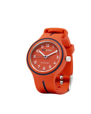 Superga Kids Red Rubber Watch STC041