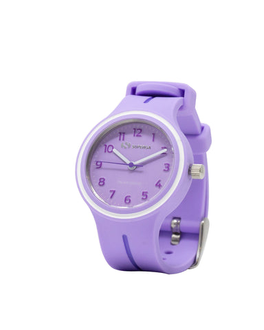 Superga Kids Violet Rubber Watch STC047