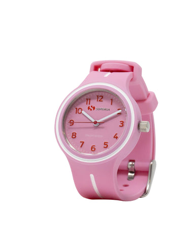 Superga Kids Pink Rubber Watch STC048