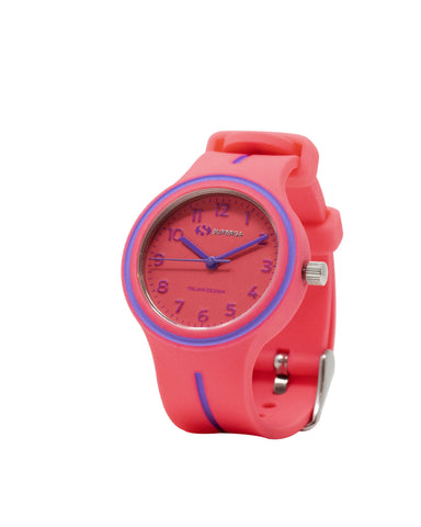 Superga Kids Red Rubber Watch STC049
