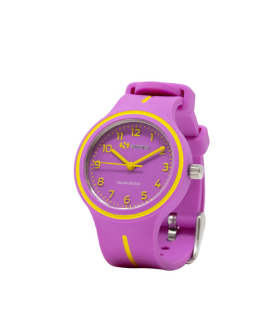 Superga Kids Violet Rubber Watch STC050