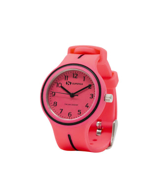 Superga Kids Pink Rubber Watch STC060