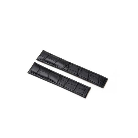 Watch Strap - Replacement Croc Style Watch Strap To Fit Tag Heuer 22MM-18MM