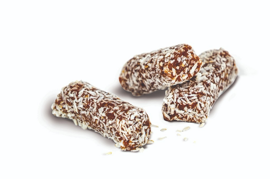 Coconut Date Rolls With Almonds