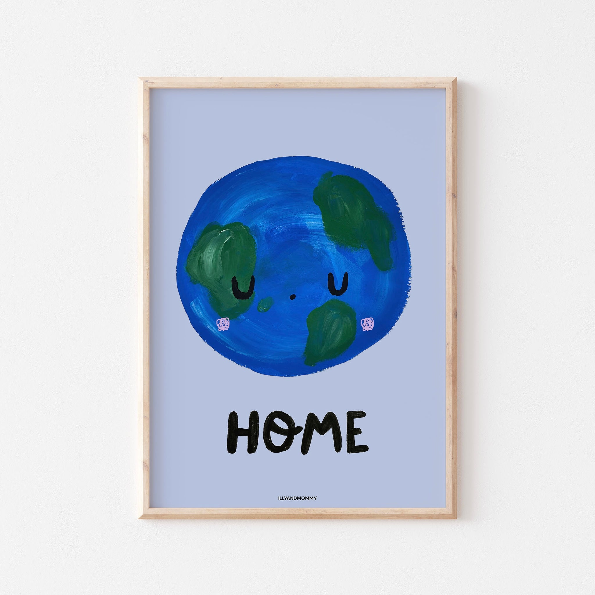 "Kinderzimmer Poster ""HOME"""