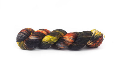 """Black Cats"" Fingering Weight Yarn"