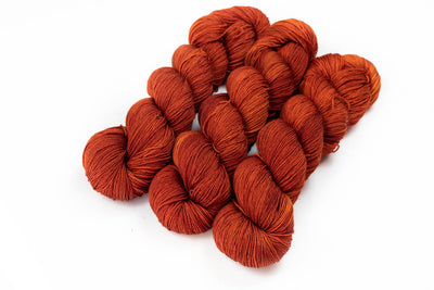 """Slutty Pumpkin"" Fingering Weight Yarn"
