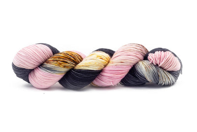 """Dressed To Kill"" Fingering Weight Yarn (Yarn Only)"