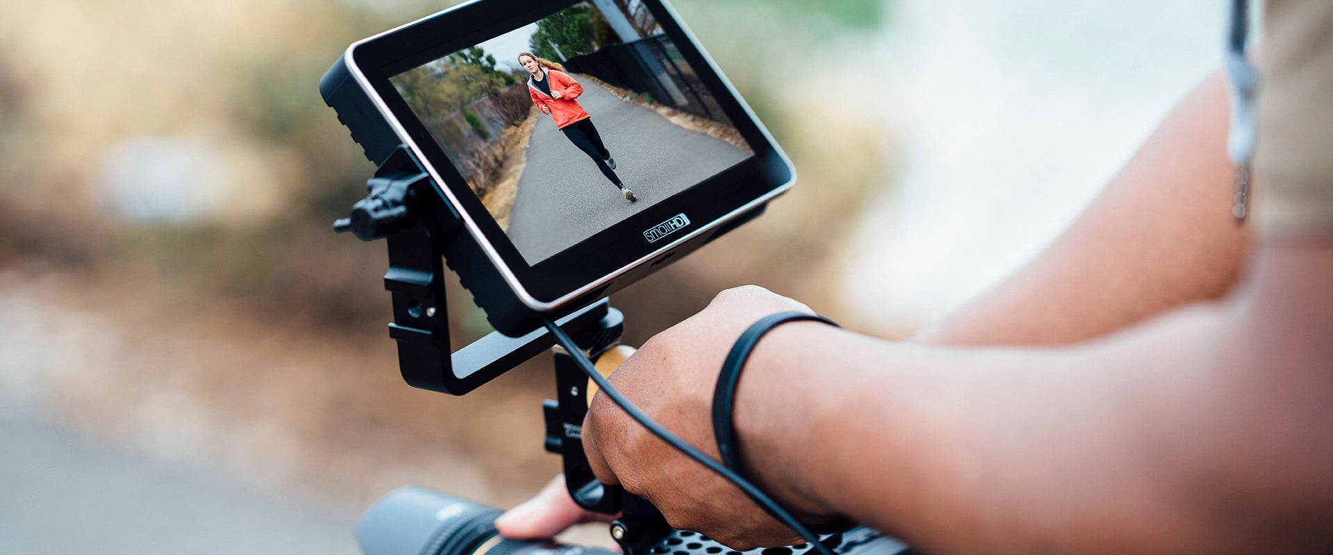 On-Camera Monitoring with SmallHD