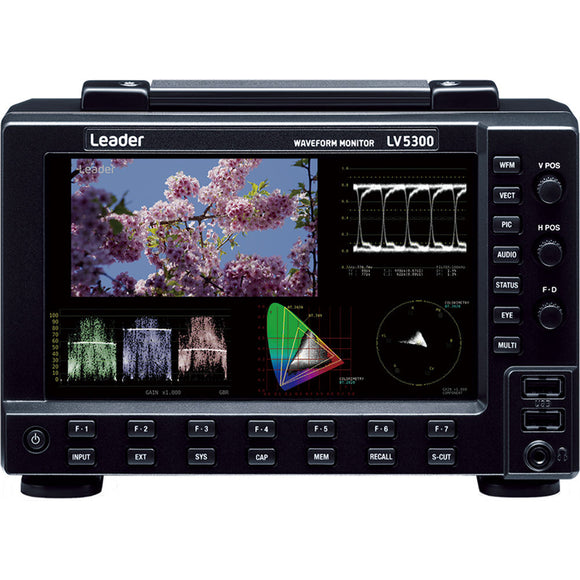 Leader LV5300 Waveform Monitor for SDI Video Signals