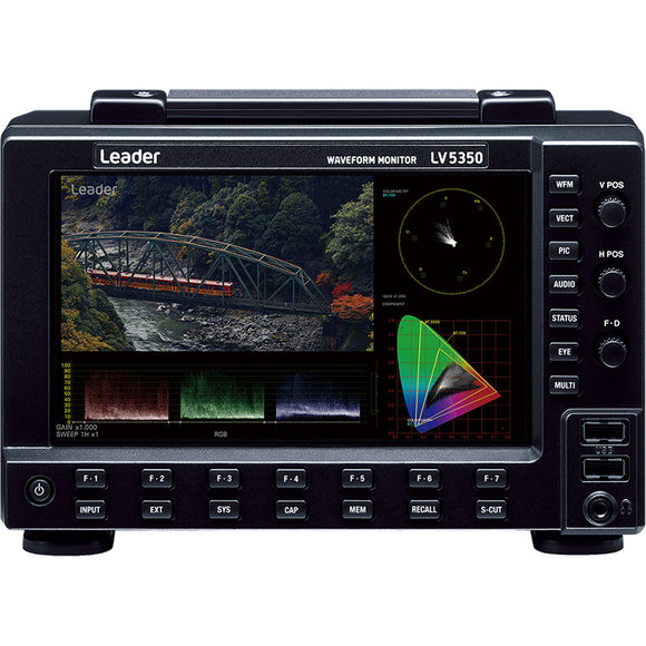 Leader LV5350 Waveform Monitor for SDI Video Signals