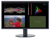AJA HDR Image Analyzer HDR Waveform, Histogram and Vectorscope Monitoring