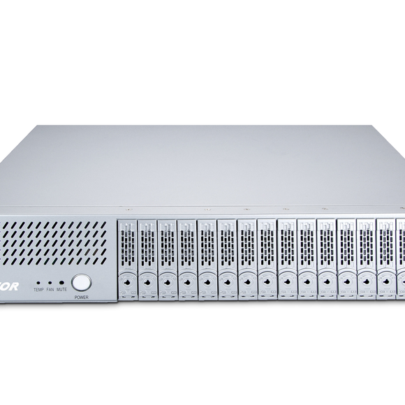 Netstor NA338TB3 2U 16 bay Thunderbolt™ 3 Storage and PCIe Expansion