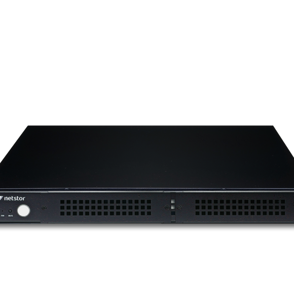 "Netstor NS372TB3 1U Rackmountable 2-bay (5.25"") LTO Tape Drive to Thunderbolt™ 3 Enclosure"