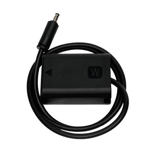 SmallHD Barrel to NP-FW50 faux battery adapter cable