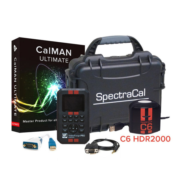 SpectraCal CalMAN Ultimate AutoCal Bundle with C6 HDR2000 & VideoForge Pro