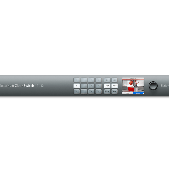 Blackmagic Design Smart Videohub CleanSwitch 12x12