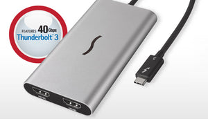 Sonnet Thunderbolt 3 to Dual HDMI 2.0 Adapter