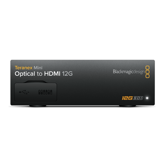 Blackmagic Design Teranex Mini Optical to HDMI 12G
