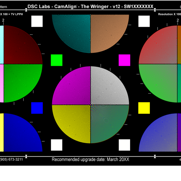 DSC Labs Focus and Resolution Charts The Wringer