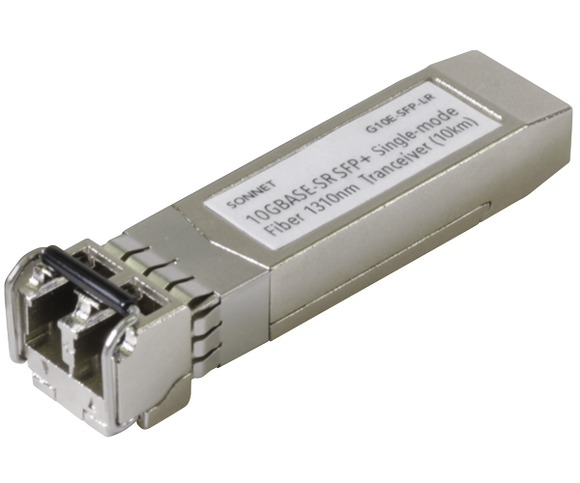 Sonnet Long-Range SFP+ Transceiver