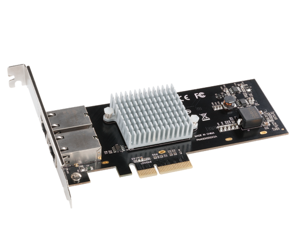Sonnet 2-Port Presto 10GbE 10GBase-T Ethernet PCI Express 3.0 Card