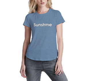 Sunshine Women's 2011 Block Vintage Crew Blue