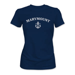 Marymount - Anchor Tee Navy