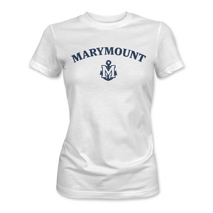 Marymount - Anchor Tee White