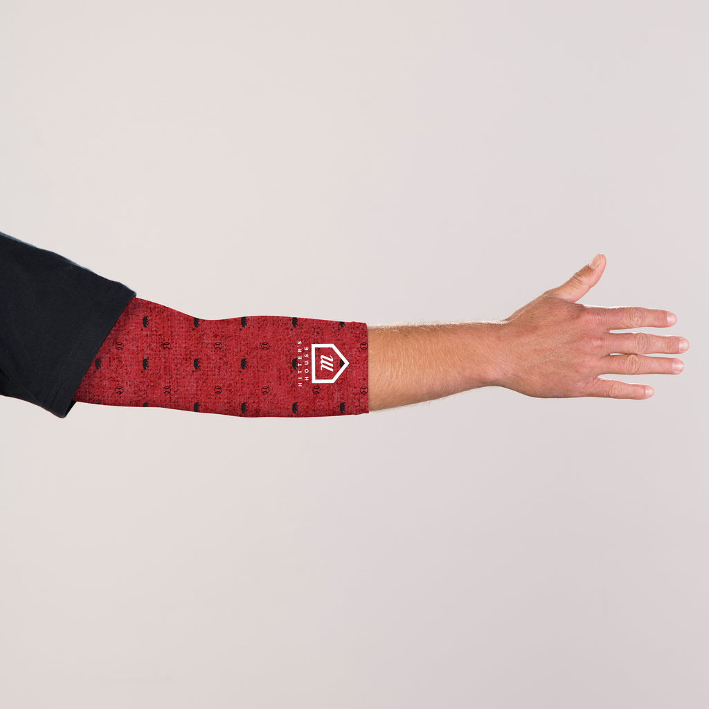 Sleeves - CA Bear Htr Red