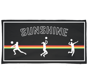 Sunshine 2019 Bump, Set, Spike Towel