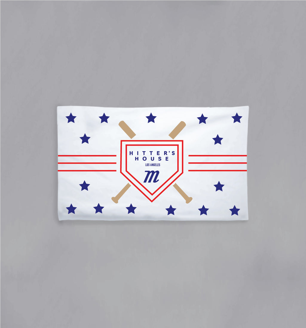 Hitter's House USA Beach Towel