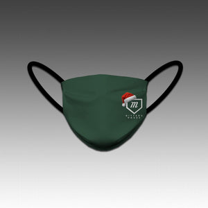 Santa Hat Green Mask