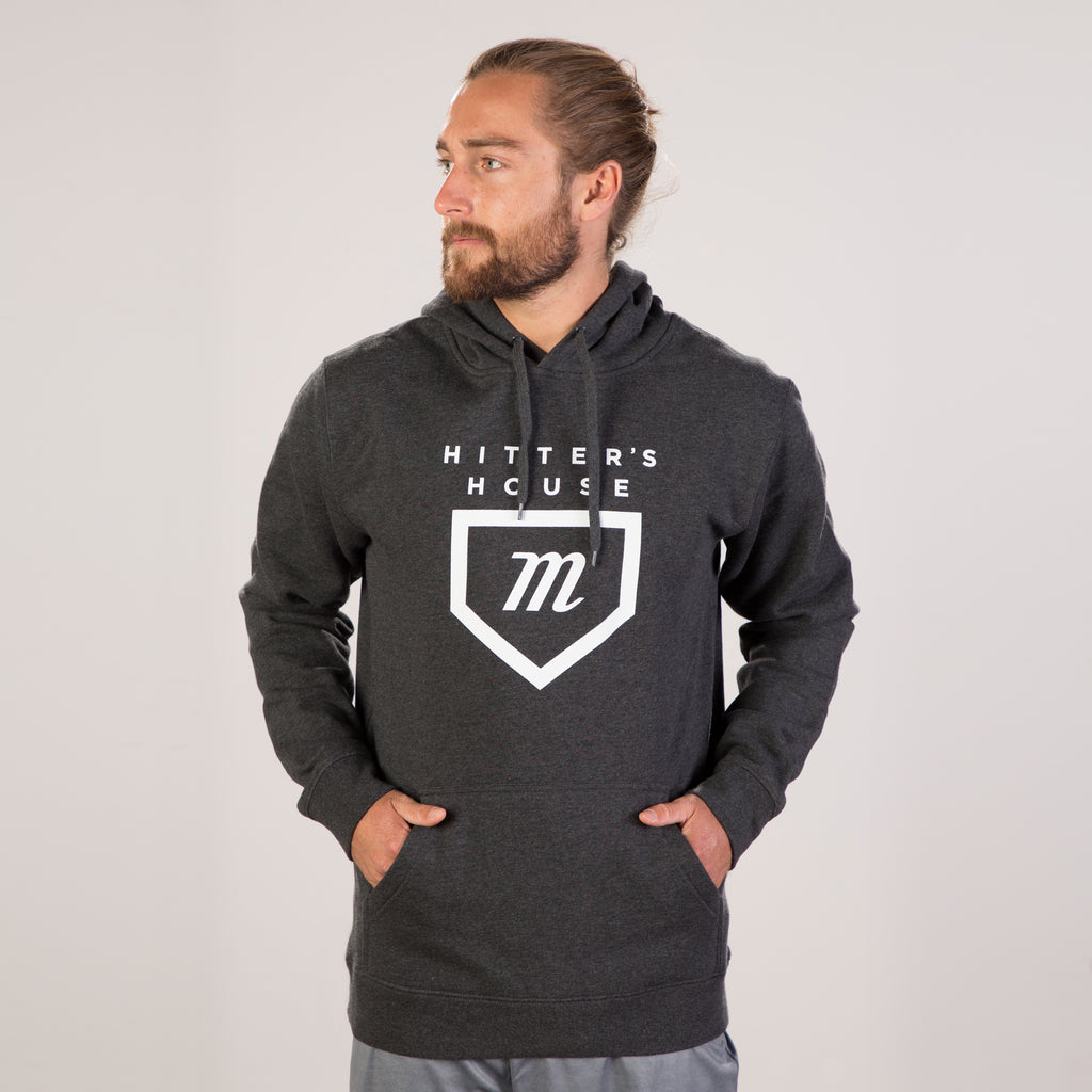 Hitter's Hoodie - Charcoal Heather