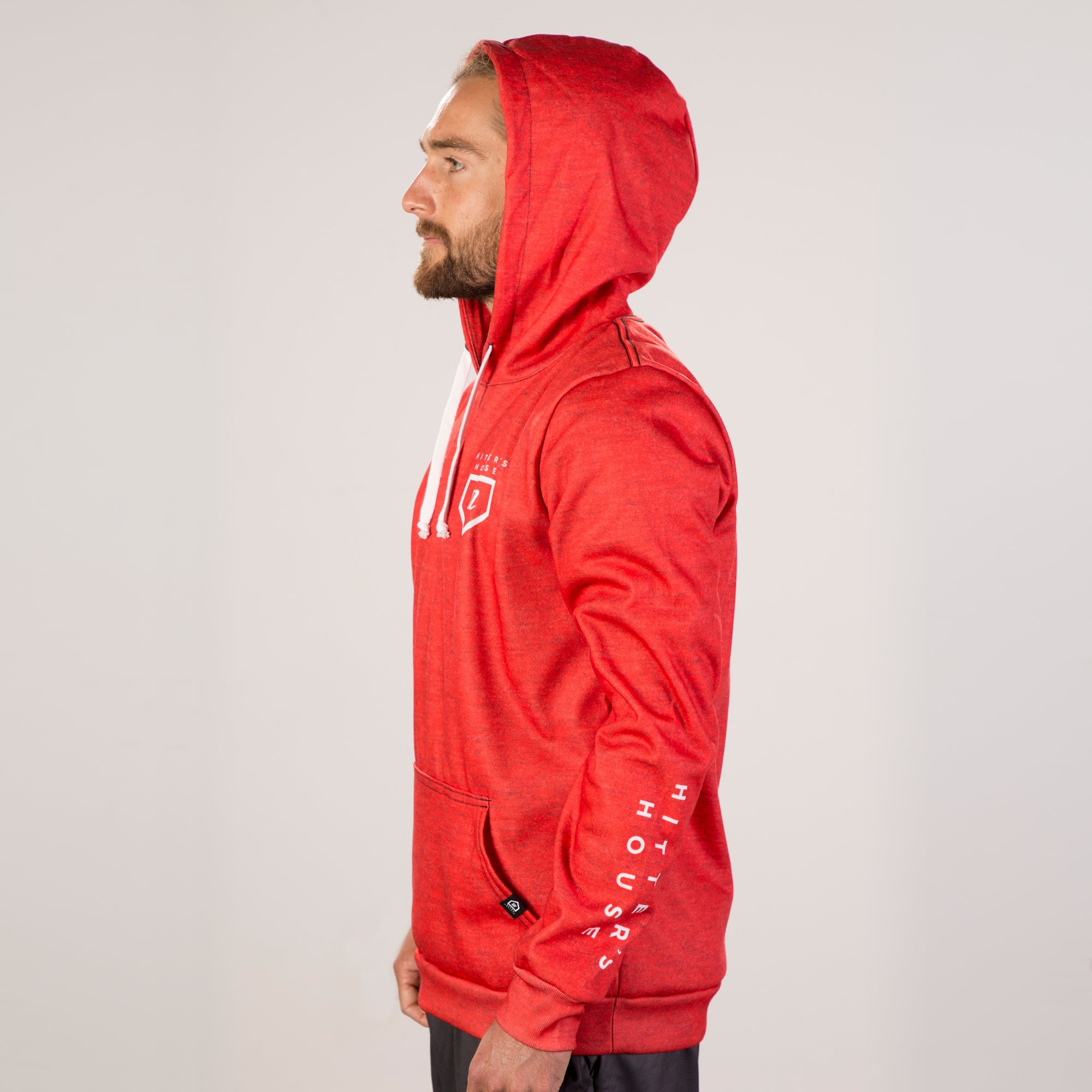 HH Tour Hoodie - Heather Red