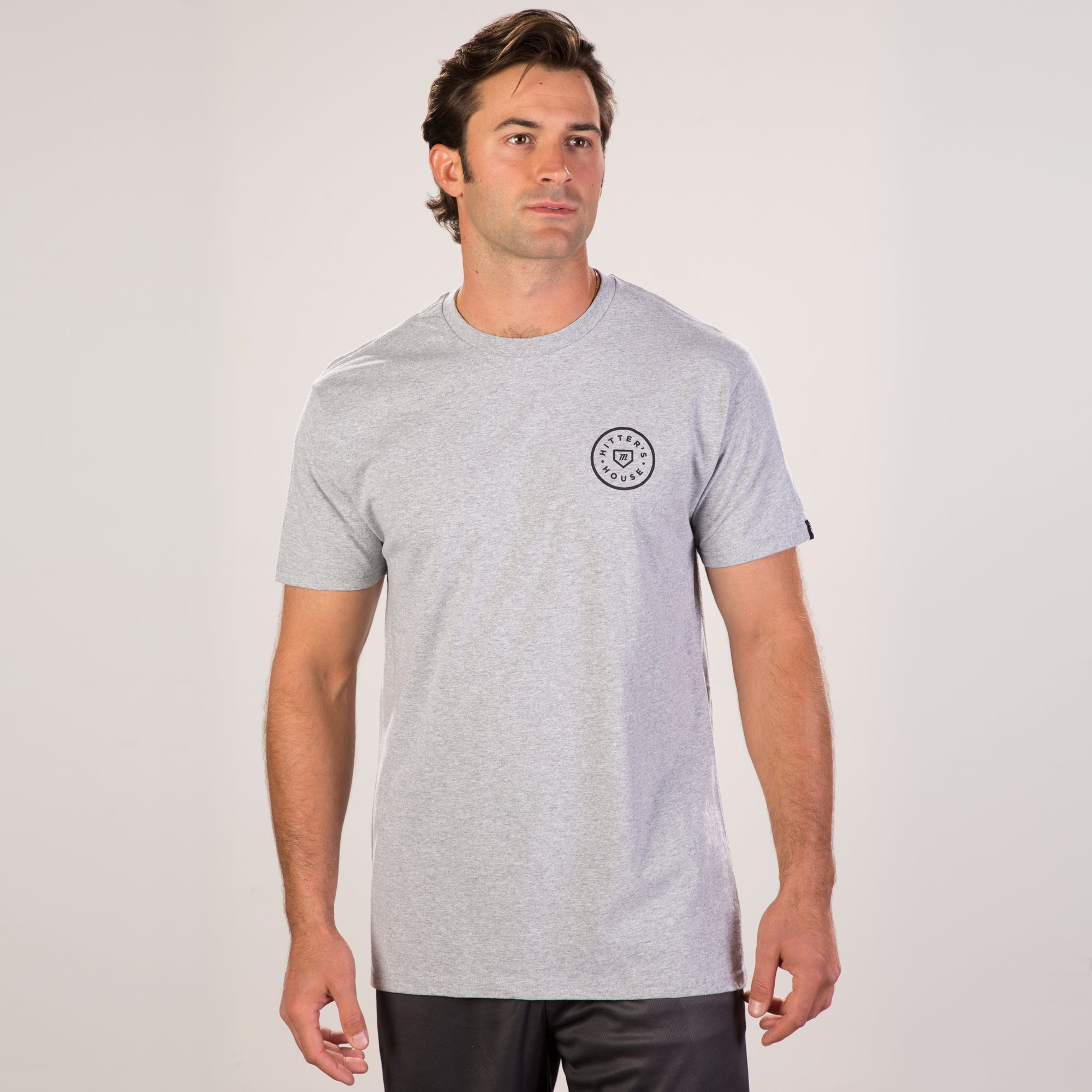 Ball Tee - Heather Grey