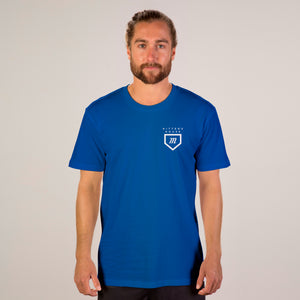 Tour Tee - Royal