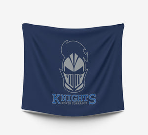 Knights Plush Throw Blanket North Torrance