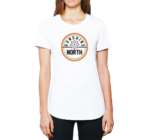 Sunshine Women's 2019 North Volleyball Circle Tee