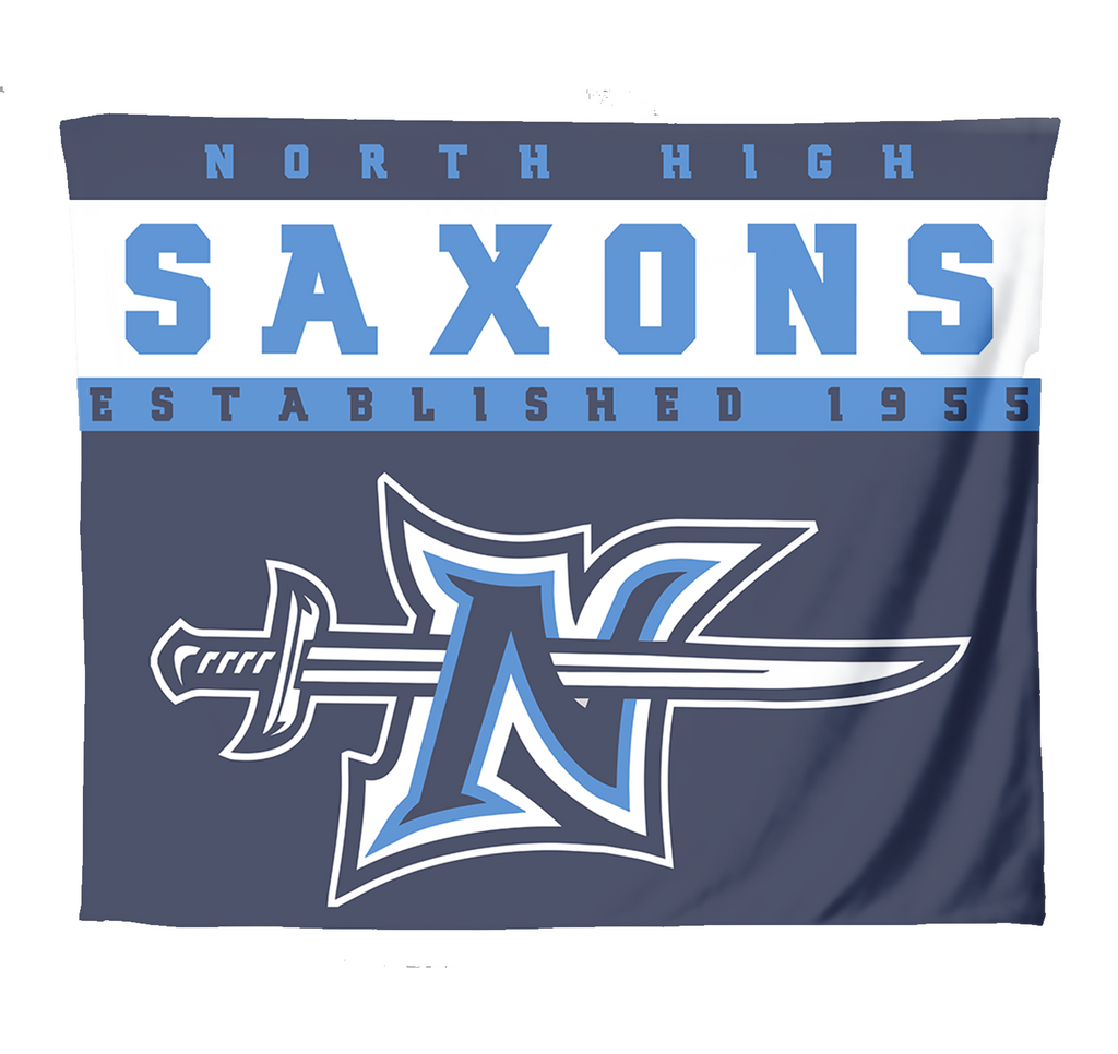 NH Saxons Blanket