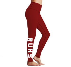 Redondo - Reversible Leggings Red