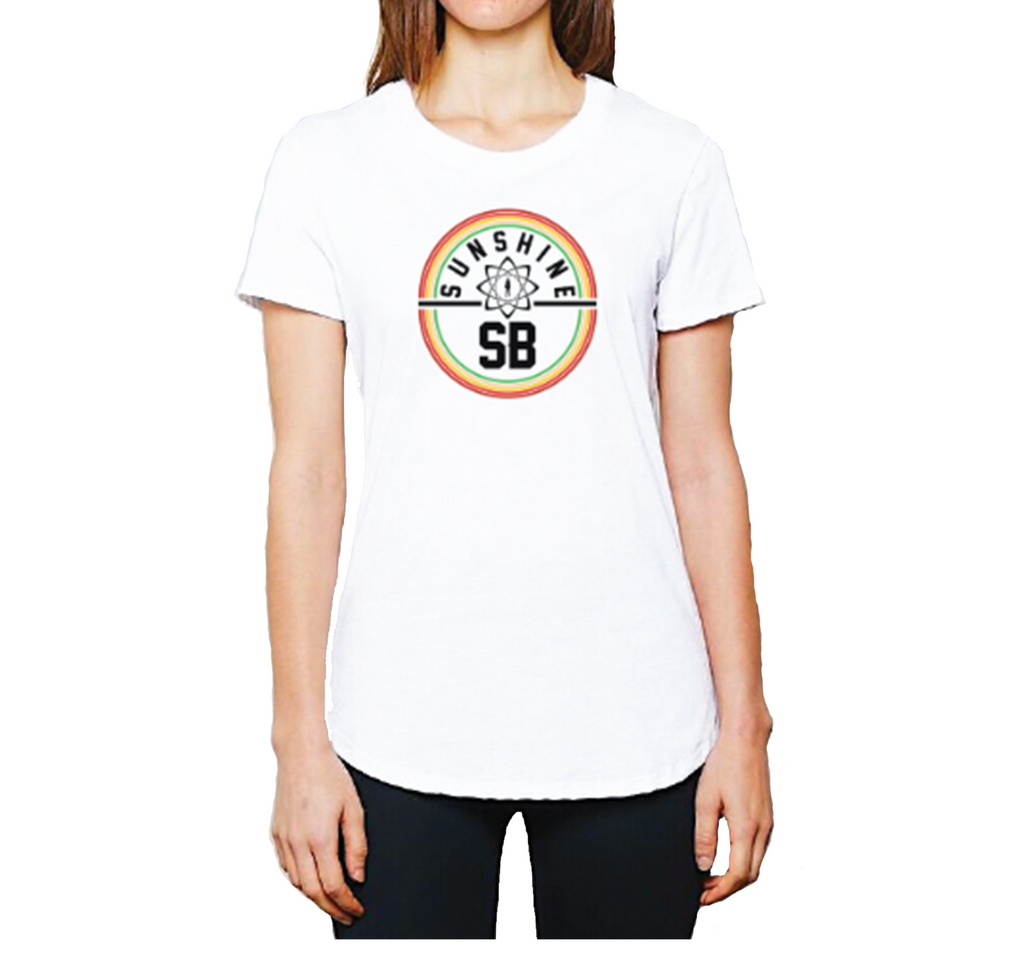 Sunshine Women's 2019 South Bay Volleyball Circle Tee