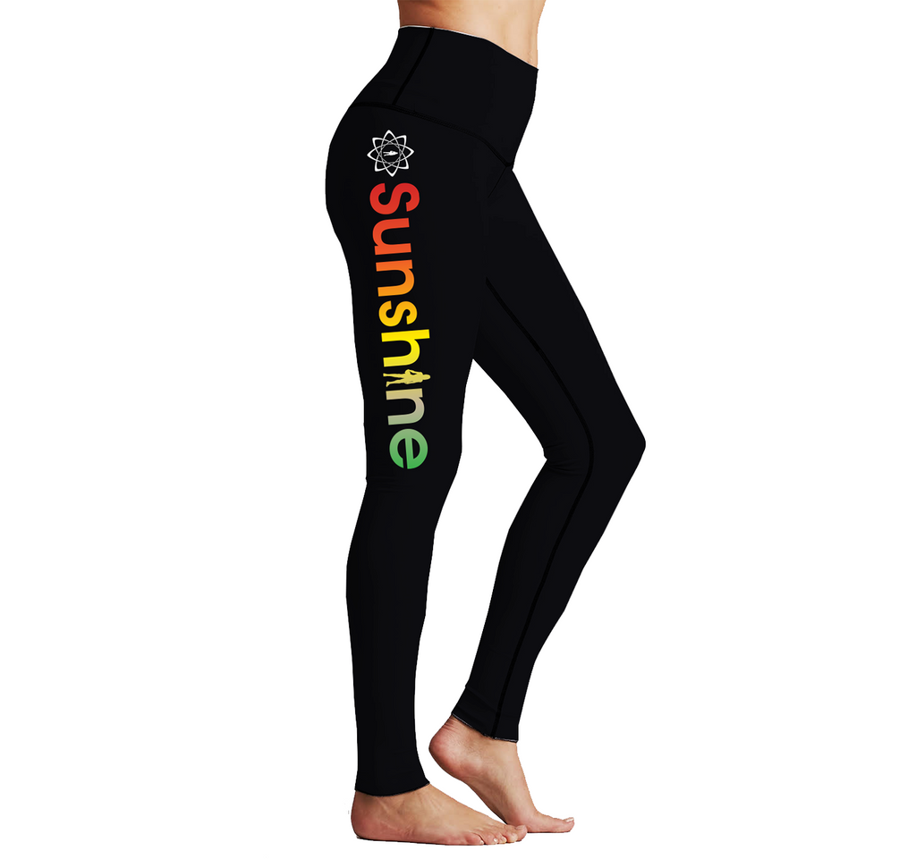 Sunshine Women's 2019 Gradient Reversible Leggings